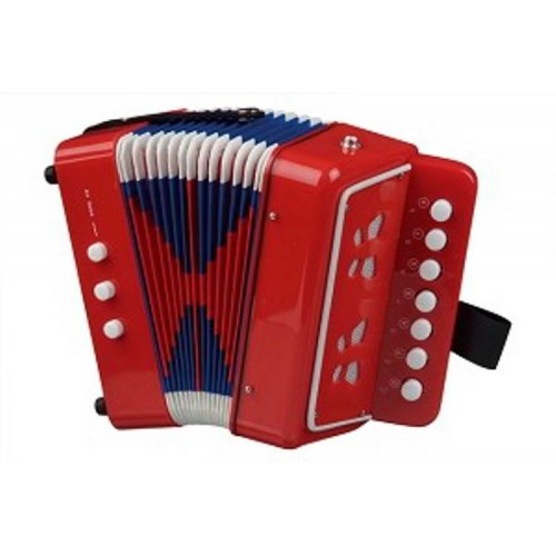 Accordeon - Rood - New Classic Toys - Instrumenten