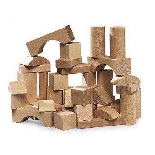 Brio - 50 Blanke Blokken - Vanaf 12 mnd - Brio - Bouwen