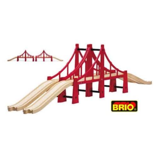 Brio - Dubbele Sidney Brug - Brio - Brio trein