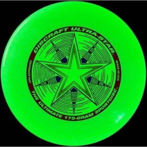 Discraft frisbee Ultrastar Nite Glo 175 gram - Twinkel - Speelgoed