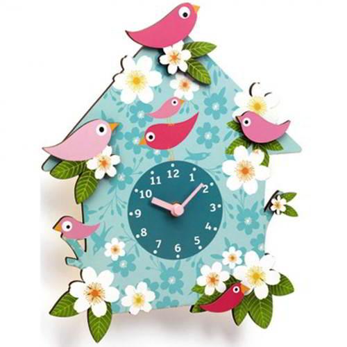 Djeco - Klok Vogeltjes - Djeco - Klokken