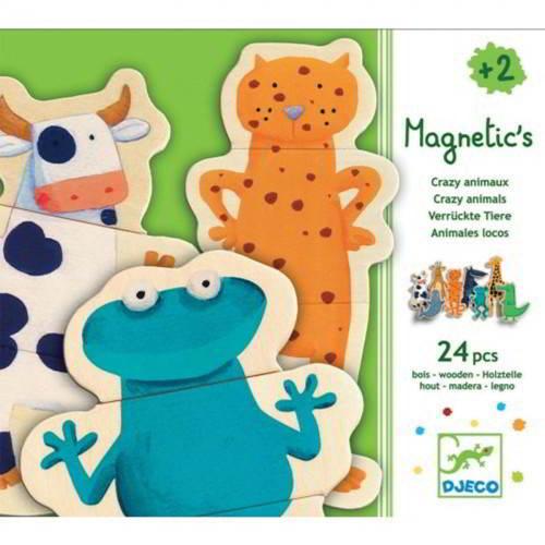 Djeco - Magnetische Puzzel - Vanaf 2 Jaar - Djeco - Puzzels