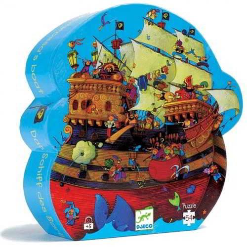 Djeco - Puzzel  Piratenschip - Vanaf 5 Jaar - Djeco - Puzzels