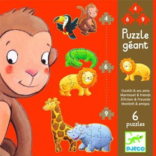 Djeco - Puzzel - Vanaf 2 jaar - Djeco - Puzzels