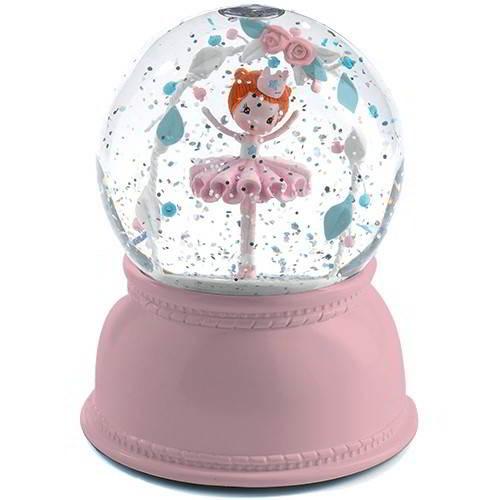 Djeco - Sneeuwbol Nachtlamp Ballerina - Djeco - Lampen