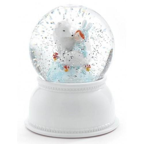 Djeco - Sneeuwbol Nachtlamp Winter - Djeco - Lampen