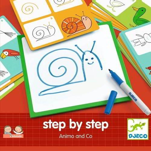 Djeco - Step by Step - Vanaf 4 jaar - Djeco - Verf