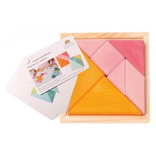Grimms - Tangram Oranje-Roze - Grimms - Spellen