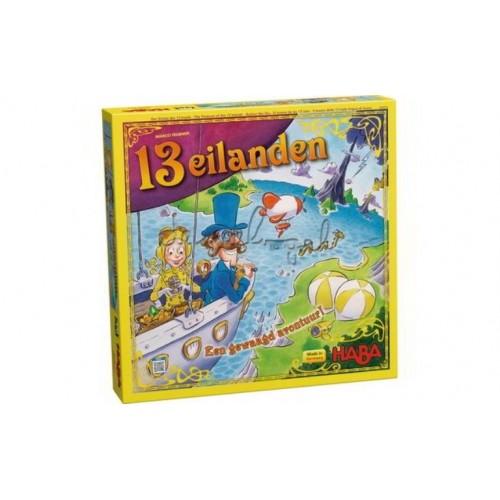 Haba - 13 Eilanden Spel- Vanaf 6 jaar - Haba - Spellen