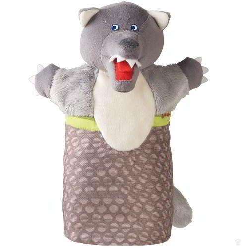 Haba - Handpop Wolf - Haba - Poppenkast