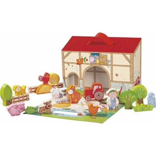 Haba - Speelset Boerderij - Vanaf 18 maanden - Haba - Thema speelgoed