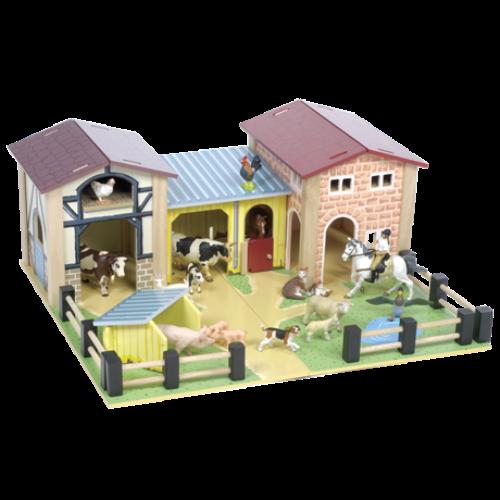Le Toy Van - Boerderij - Le Toy Van - Thema speelgoed