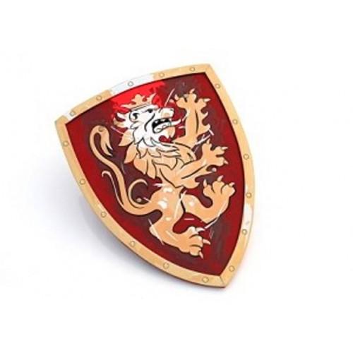 Liontouch - Schild nobele ridder - Rood - Liontouch - Verkleden