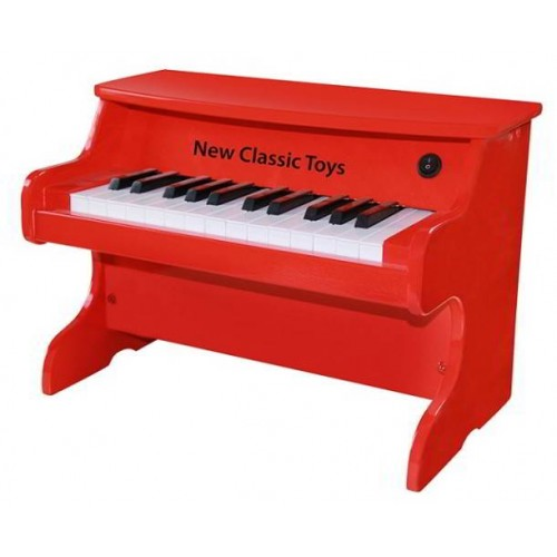 Piano Electrisch- Rood - New Classic Toys - Instrumenten
