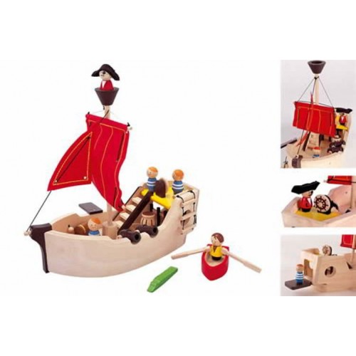 Plan Toys - Piratenschip - Plan Toys - Thema speelgoed