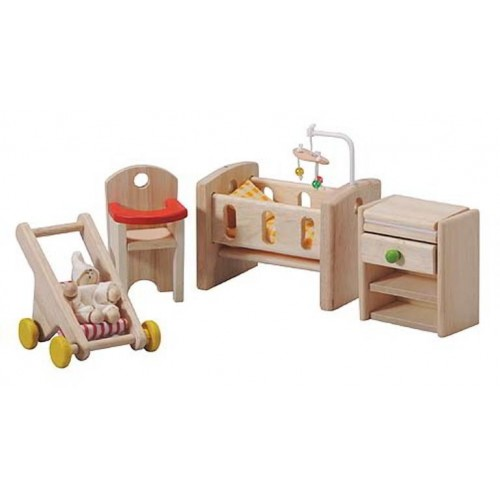 Plan Toys - Poppenhuis - Babykamer - Plan Toys - Poppenhuizen