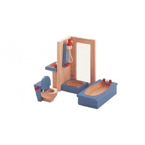 Plan Toys - Poppenhuis - Badkamer Neo - Plan Toys - Poppenhuizen