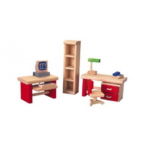 Plan Toys - Poppenhuis - Kantoor Neo - Plan Toys - Poppenhuizen