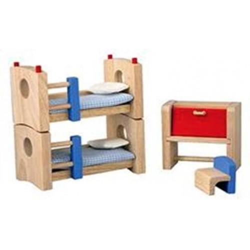 Plan Toys - Poppenhuis - Kinderkamer - Plan Toys - Poppenhuizen