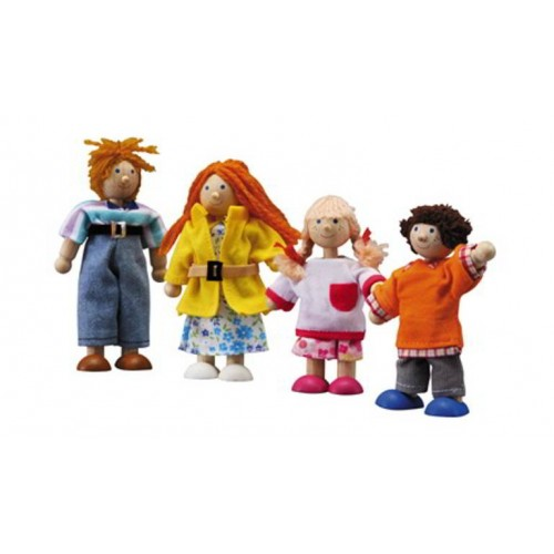 Plan Toys - Poppenhuis - Moderne Familie - Plan Toys - Poppenhuizen