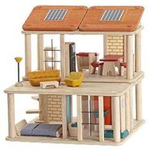 PLan Toys - Poppenhuis NIEUW - Plan Toys - Poppenhuizen