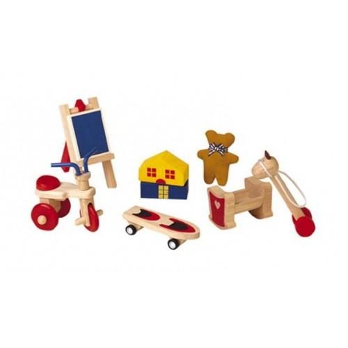 Plan Toys - Poppenhuis - Speelgoedset - Plan Toys - Poppenhuizen