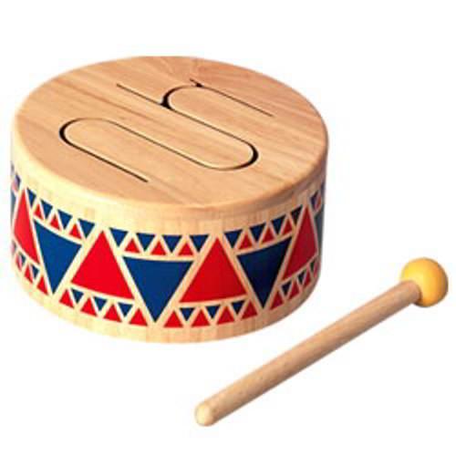 Plan Toys -Trommel - Vanaf 1,5 jaar - Plan Toys - Instrumenten