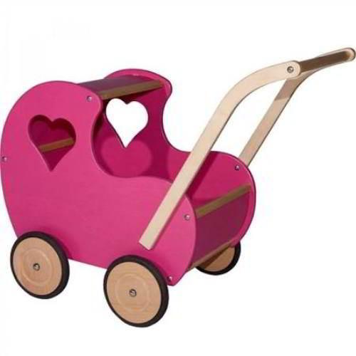 Van Dijk Toys - Poppenwagen Hart - van Dijk Toys - Poppen