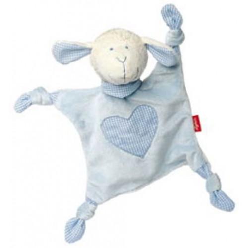 Sigikid - Knuffellapje baby blauw - Sigikid - Knuffeldoekjes