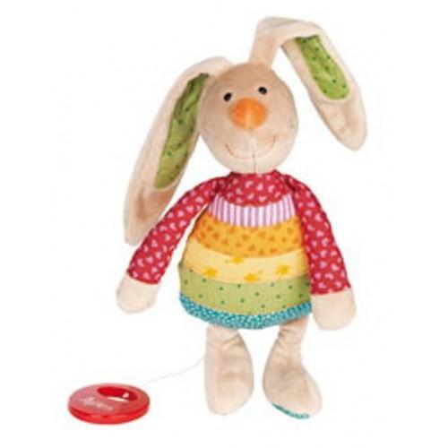 Sigikid - Muziek konijn regenboog - Sigikid - Muziekdoosjes