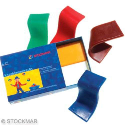 Stockmar Bijenkneedwas- 6 kleuren - Stockmar - Knutselen