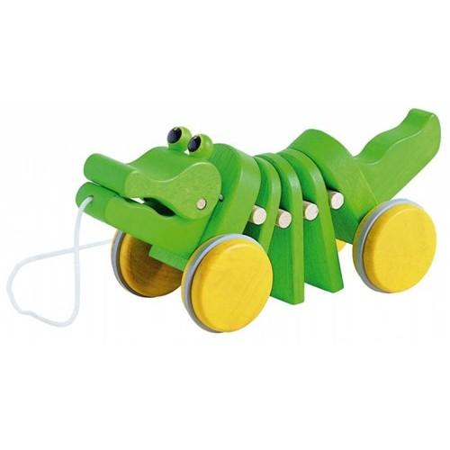 Plan Toys - Dansende Krokodil - Plan Toys - Trekfiguren