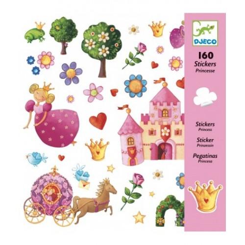 Djeco - Stickers Prinses - Djeco - Stickers