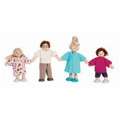 Poppenhuis - Familie - Plan Toys - Poppenhuizen